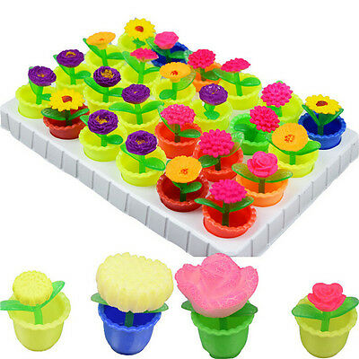 2 x Colorful Growing Flower Water Swell Growing Toy Kid Gift Expansion Toys LJ