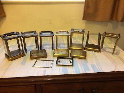 Antique French Carriage Clock Case Parts Job Lot