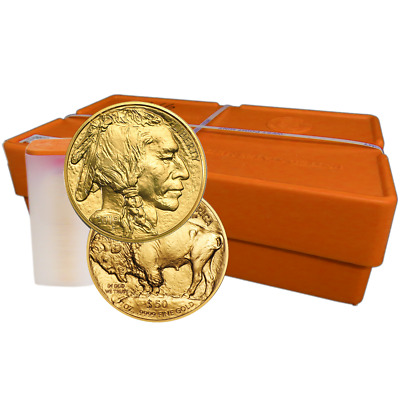Lot of 500 - 2019 $50 American Gold Buffalo 1 oz BU Full Monster Box