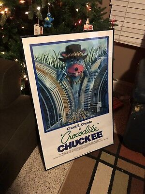 Crocodile Chuckee- Chuck E Cheese Pizza Time Theatre Parody (Poster Only)