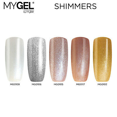 Mylee MYGEL Shimmer Metallic UV LED SoakOff Gel Nail Polish Colour Manicure 10ml