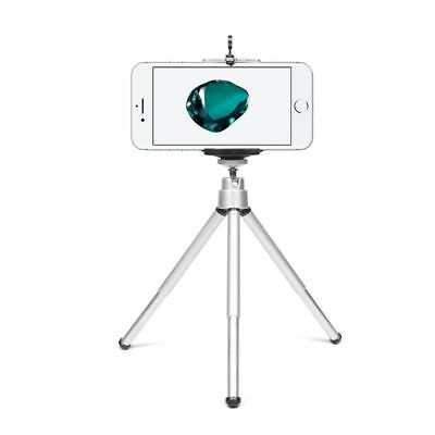 Aluminium Mini Tripod Portable Camera Head Pan Professional DSLR Tabletop Stand