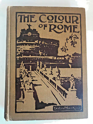 The Colour of Rome OLAVE MURIEL POTTER Illustrations by Yoshio Markino