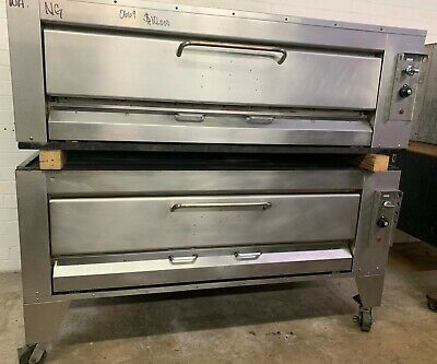 Montague Hearth Bake Double Stack Stone Deck Pizza Ovens Model 25P-2