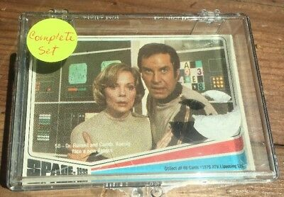 1976 SPACE:1999 TV Series Complete DONRUS Trading Card Set of 66- EX/NM