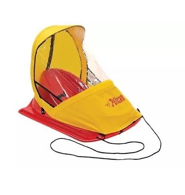 NEW Pelican Baby Sled Deluxe Injection Molded Plastic 0-24 mos FREE UPS SHIPPING
