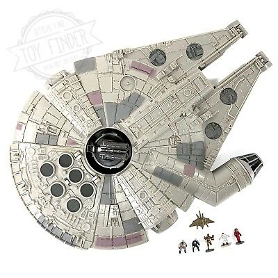1995 Galoob Micro Machines Star Wars MILLENIUM FALCON play set with figures