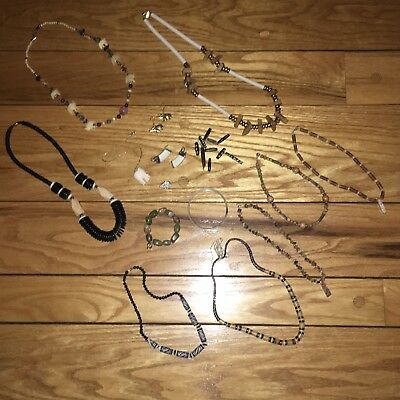 Estate Finds! Safari Tribal Jewelry Lot! Necklaces, Earrings, Bracelets & More!