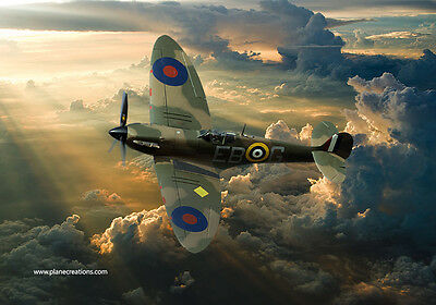 Supermarine Spitfire,canvas prints various sizes free delivery