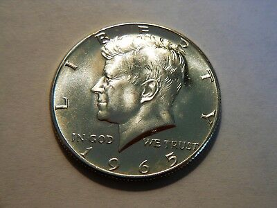 1965-P CH BU 40% Silver Kennedy Half Dollar,  Great Looking Coin to collect