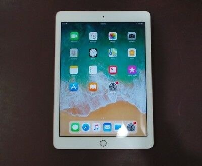 "Apple iPad (2018) 6th Gen 32GB Wi-Fi 9.7"" MRJN2LL/A Gold"