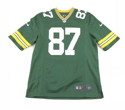 a95eb0545 Nike ON FIELD Adult Jordy Nelson GREEN BAY PACKERS Jersey Mens Medium NFL