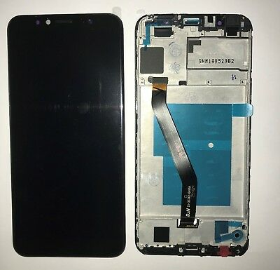 TOUCH SCREEN SCHERMO DISPLAY LCD +FRAME Huawei Y6 2018 Honor 7a ATU-L11 L21 NERO