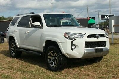 2018 Toyota 4Runner TRD Off Road 4x4 4dr SUV 2018 TRD Off Road 4x4 4dr SUV Used 4L V6 24V Automatic 4WD SUV