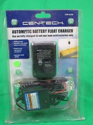 Automatic Battery Float Charger 12V 400ma RV ATV 5-125 Ah Batteries 42292