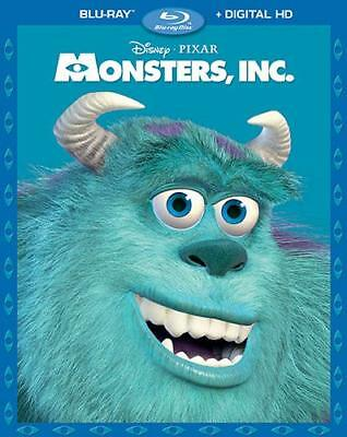 Monsters, Inc. (Blu-ray + DIGITAL HD, 2-Disc Set) BRAND NEW + FREE SHIPPING