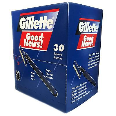 Gillette Good News Disposable Razors Twin Blade, Box of 30 Pieces