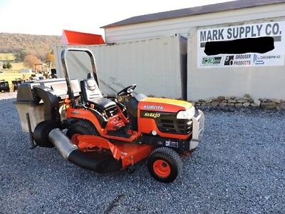 2005 Kubota BX2230 Sub Compact Tractor Belly Mower Bagger 4X4 Diesel 3 Point !!!