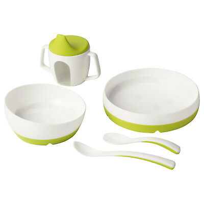 NEW IKEA Borja / Smagli eating set Baby Training Beakers Sip Cups bowl plate
