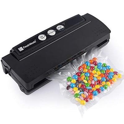 Fresh World Vacuum Sealer, Automatic Vacuum Sealing 4 in 1 System for food