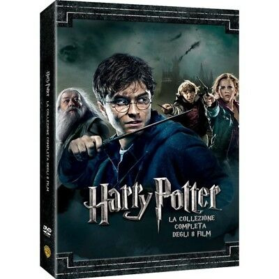 Cofanetto Harry Potter Collection (Standard Edition) (8 Dvd) Film Dvd Nu-420281