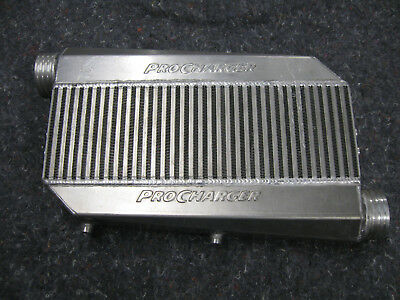 "PROCHARGER INTERCOOLER 18""W X12.5""H X 3.5""D 3"" inlets"