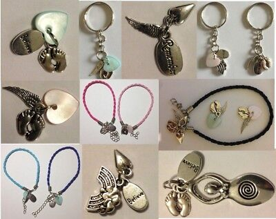 Baby memorial keepsake jewellery Baby loss Miscarriage - 3 charms for £2.29