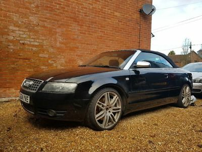AUDI S4 CABRIOLET 2004 Rare Manual v8 4 2 with extras! (RS4 Alloys and  Exhaust)