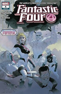 Fantastic Four #4 VF/NM 2018
