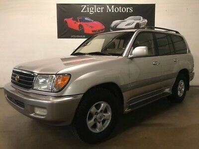 2000 Land Cruiser -- 2000 Toyota Land Cruiser 186,893 Miles