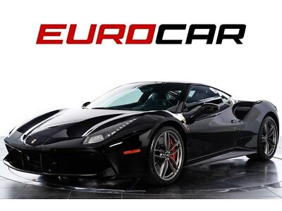 2016 Ferrari 488 GTB (highly-optioned) Highly-Optioned, Loaded with Carbon Fiber