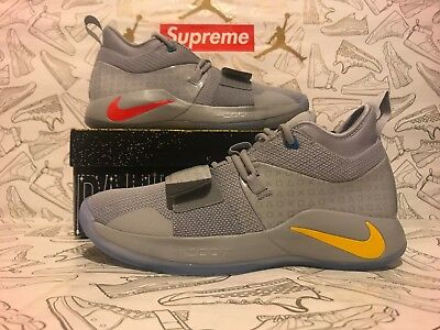 46aa4693f96f 100% Authentic Paul George Nike PG 2.5 Playstation Wolf Grey BQ8388-001 Men  8