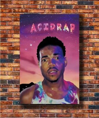 Art Chance the Rapper Acid Rap Painting Music -30 24x36in Poster - Hot Gift C519