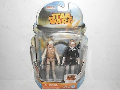 "Star Wars MS15 LUKE SKYWALKER & HAN SOLO from Episode V 3.75"" Disney Hasbro 2014"