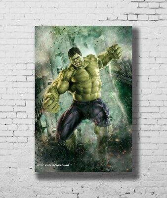 24x36 14x21 Poster Hulk - The Avengers Marvel Superheroes Movie Art Hot P-1247