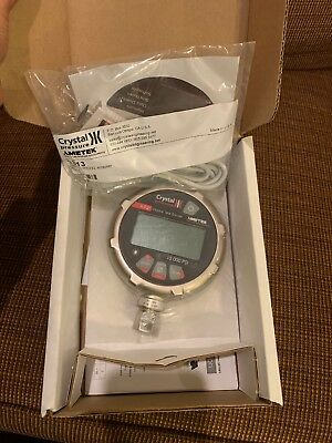 15KPSIXP2I Crystal Engineering Digital Pressure Gauge 15KPSI, Data Logger NIB!