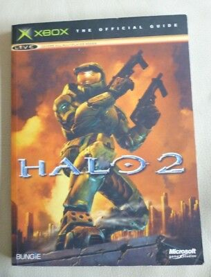 HALO 2 The Official Guide Bungie S/cover 2004  VGC