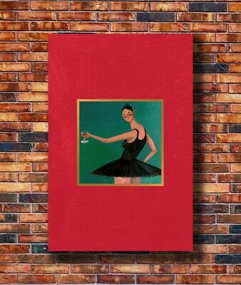 Art Kanye West My Beautiful Dark Twisted Fantasy 24x36in Poster - Hot Gift C1461