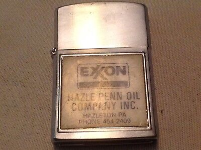 Hazle Penn Oil Co. Exxon Gas, Hazleton, Pa. Exxon Cigarette Lighter
