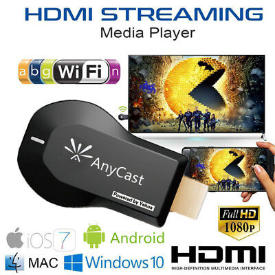 IT Anycast WiFi Dongle TV 1080p Airplay Display DLNA HDMI Receiver Miracast M9