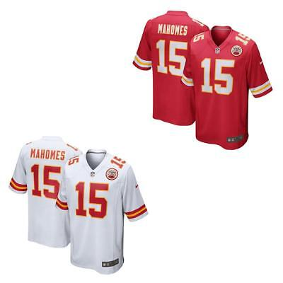 Patrick Mahomes Men Jersey White or Red