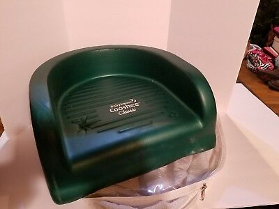 Cooshee Booster Seat by Baby Smart Foam Toddler Chair Hunter Green Carrying Case