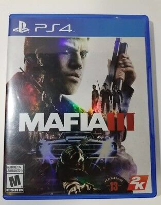 Mafia III - Standard Edition: PS4 videogame - NO SCRATCHES - complete - tested