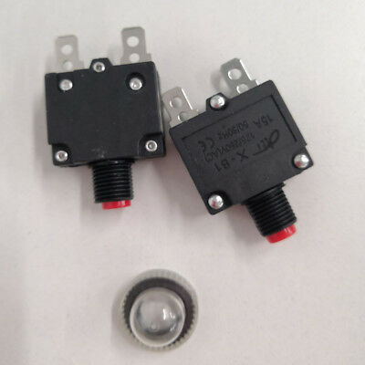 5-30 AMP Circuit Breaker Overload Protector Switch Fuse Resettable AC 125//250V