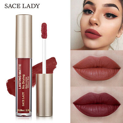 Sexy Matte  Makeup Liquid Lipstick Nude Lip Tint Make Up Waterproof Lip Gloss.