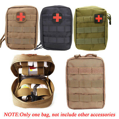 Tactical Military Kit Bag Emergency Medical Travel Survival Rescue--
