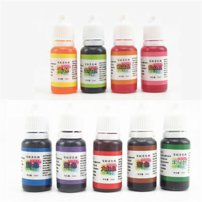 10ml DIY Material Handmade Soap DYE Pigments Liquid Colorant Toolkits 9 Color
