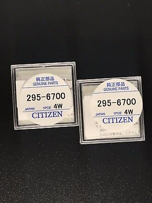 295.67 Eco-Drive Citizen Capacitor Factory Sealed Genuine Watch Battery