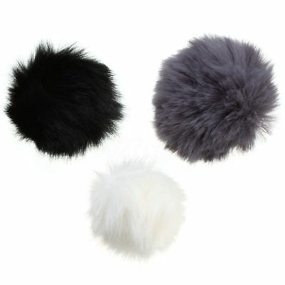 1PC Fur Windscreen Windshield Wind Muff for Lapel Lavalier Microphone Mic