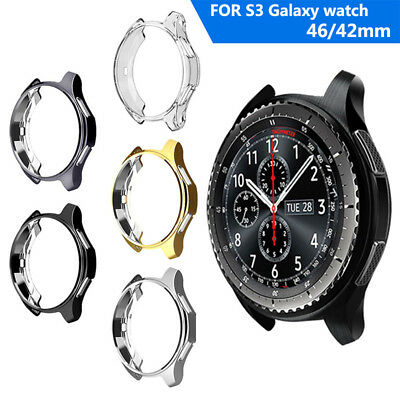 New For Samsung Gear S3 Galaxy 46mm Slim Watch Case Cover Skin Protector